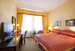 Bardzo wygodne łóżka w pokoju w standardzie komfort