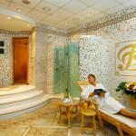 Sauna w hotelu Dvorak