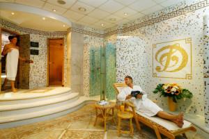 Sauna hotelowa, relaksujące miejsce