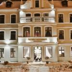 Hotel Fryderyk - widok zimą